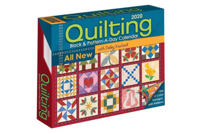 Quilting calendar 2019