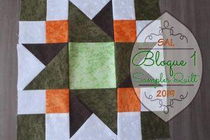 Bloque 1 - Sampler Quilt