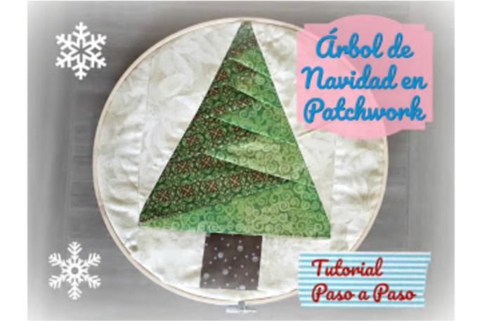arbol de navidad patchwork