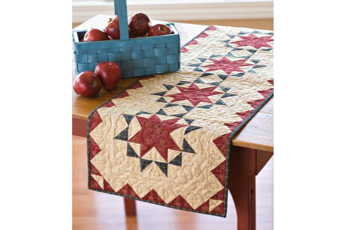 camino de mesa patchwork
