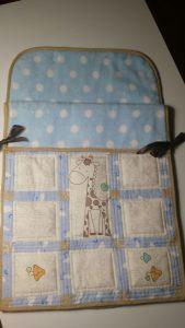 saco bebé patchwork