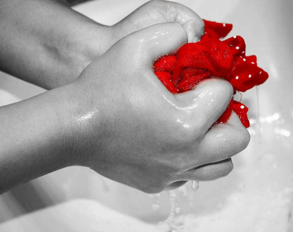 lavar tela de patchwork