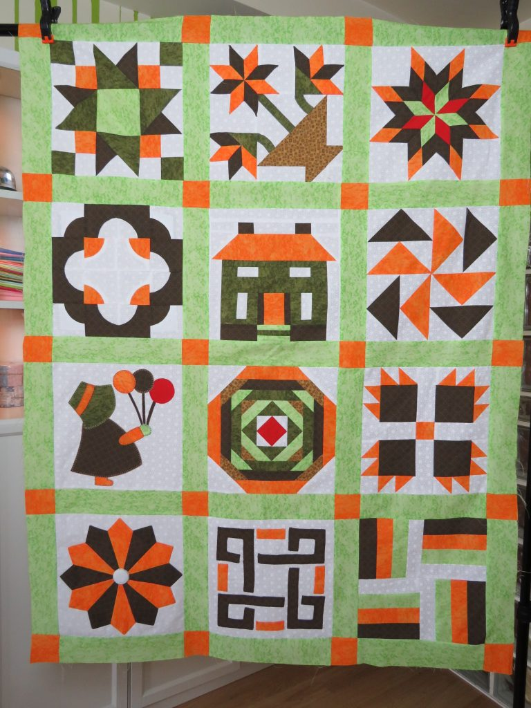 Sampler patchwork TUTORIAL