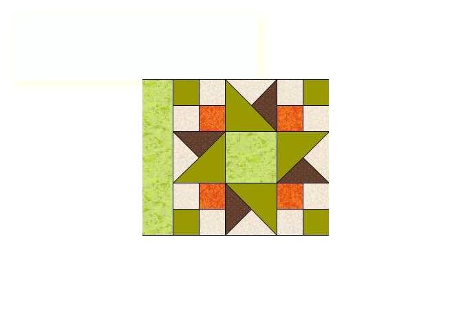 unir calles en bloques de patchwork