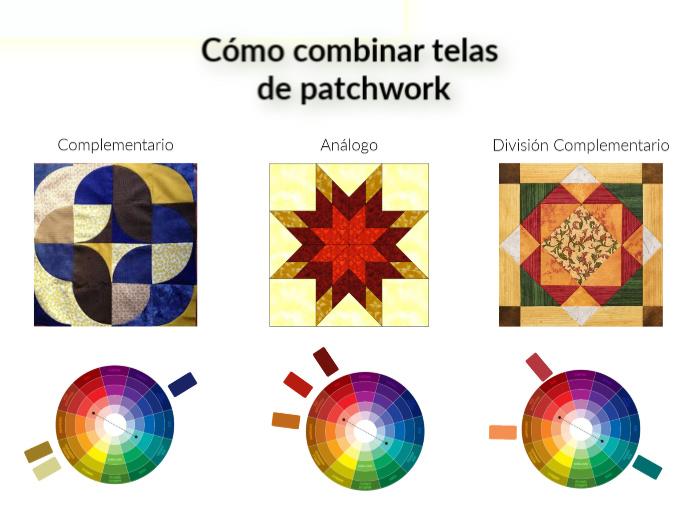 COMBINAR TELAS PATCHWORK