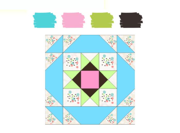 como combinar telas patchwork