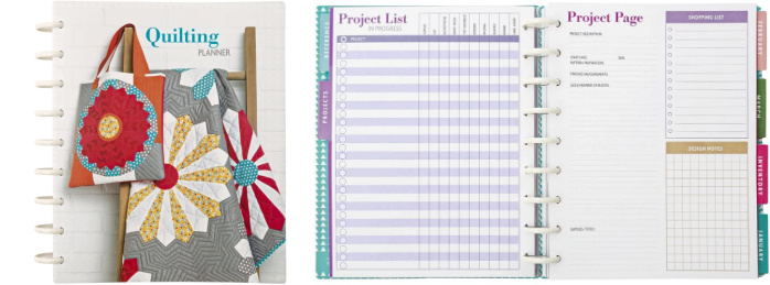 Quilting Planner 2021