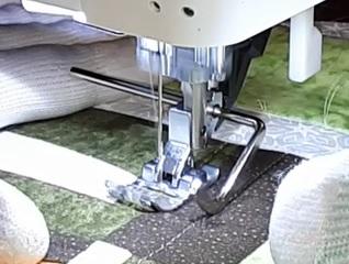 acolchar a máquina líneas
